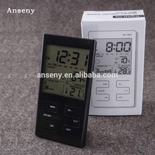 electronic thermometer digital weather station alarm clock