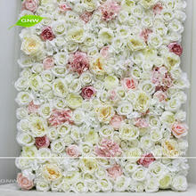GNW FLW1705001 Customized Size Artificial Paper Flower Wall Wedding Backdrop Flower Decoration
