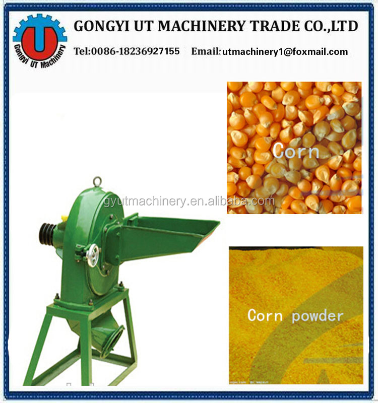 High quality electric corn grinder machine 008618236927155