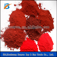 iron oxide red pigments/Fe2O3/cosmetics grade-(free sample)&Banyue