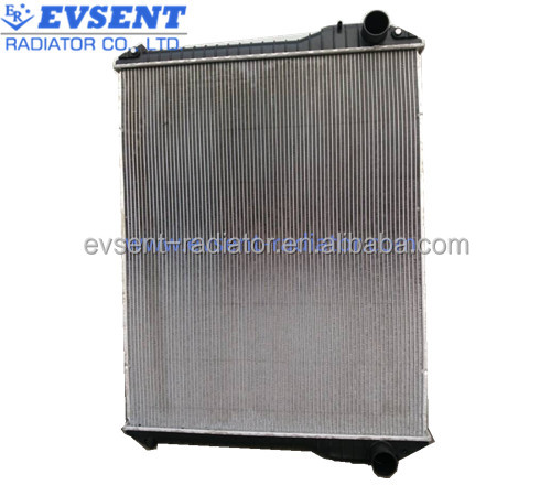 Factory customized heavy duty truck aluminum radiator core EVR3HNO74,used truck radiator