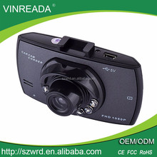 Mini 2.2 inch mirror user manual full hd 720p car camera dvr video recorder with factory price