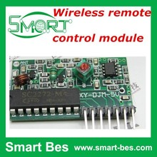 Smart Bes ~Wireless remote control module 2262 match 5v decoding 2272 wireless receiving M4 / L4 / T4 mahogany electronic