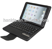 Detachable Bluetooth Keyboard with Foilo Case for ipad mini and 4 colors