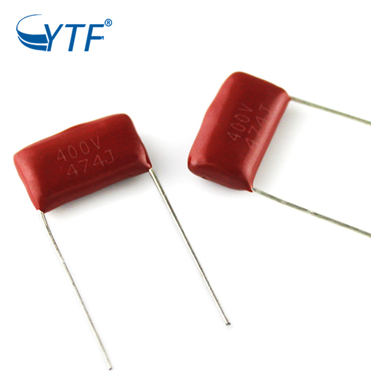 Ceiling Fan Capacitor Metallized Film Capacitor CBB21 474J 400V in power supply