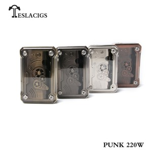 A little bit of punk with a lot of power! original e cig box mod PUNK 220W best box mod