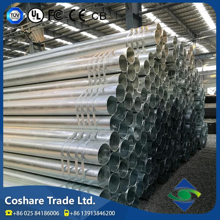 COSHARE Flexible Delivery Technical Support galvanized seamless steel pipe