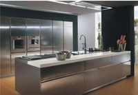 Top quality stainless steel kitchen cabinets/cheap kitchen stainless steel kitchen with appliance