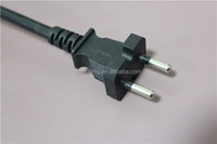 2 pin plug KC Korea power plug