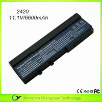 factory price li-lon laptop battery for acer 2420 battery