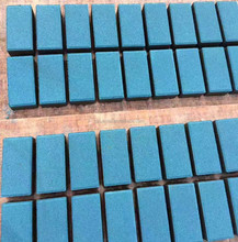 High purity blue iron oxide pigment powder for concrete and cement