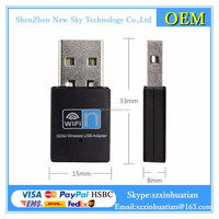 OEM 300Mbps Wireless network Card Mini USB wifi adapter wifi usb adapter
