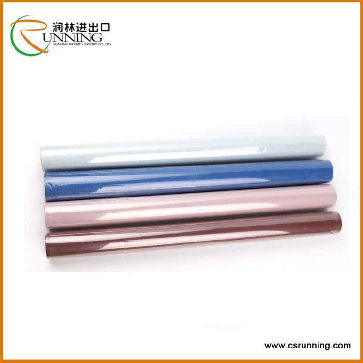 Self-adhesive marble laminated embossed PVC film