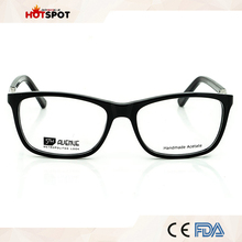 China new design optical frames stock acetate eyewear wholesale man glasses frames
