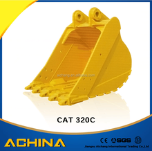 Best selling large excavator bucket for CAT320C