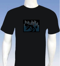 High Quality Sound Activated EL T-Shirt