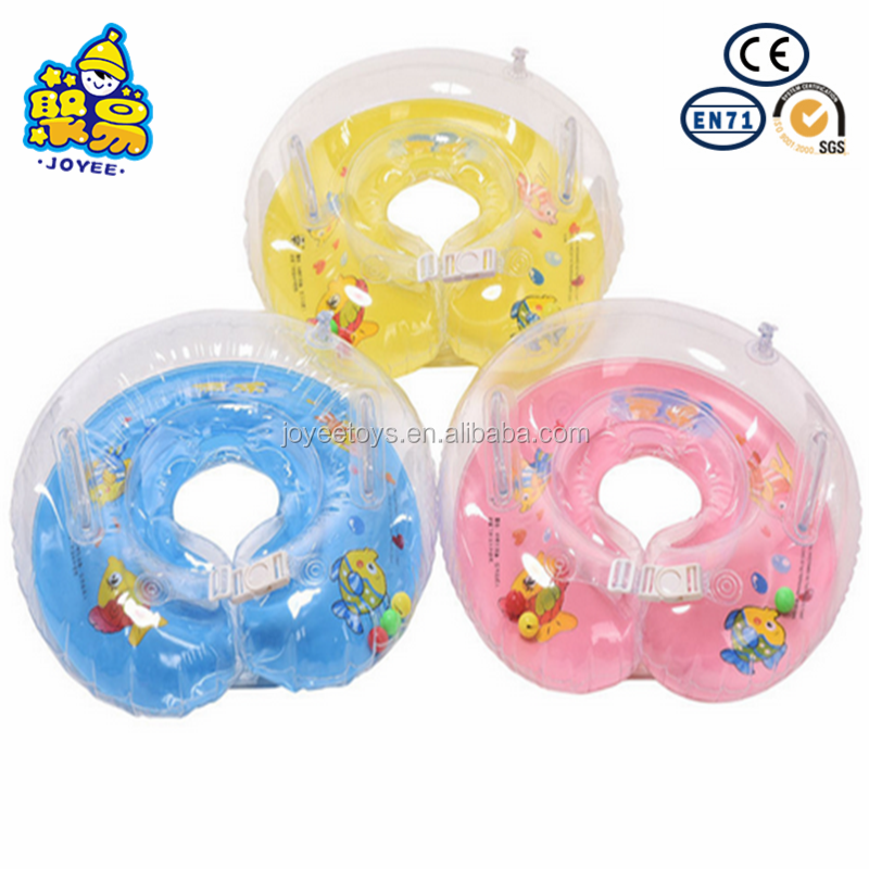 Safe round baby inflatable ring baby float neck ring swimming ring baby