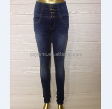 Wholesale Cheap Skinny Pants Black Trousers Young Girl Tight Jeans In Stock