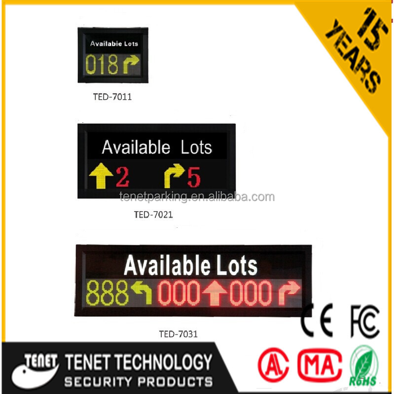 LED display for parking guidance /TED-7021