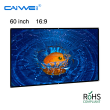 EUG Factory Wholesale Cheaper Price Portable Projector Screen Projection Screen