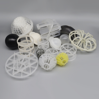 Efficient Plastic Pall Ring Tri Pak Scrubber Packing Media
