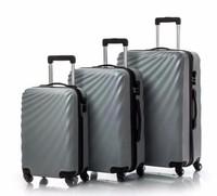 THINGO Brand China Factory Promotional Cheap 20inch Carry On ABS Trolley Luggage