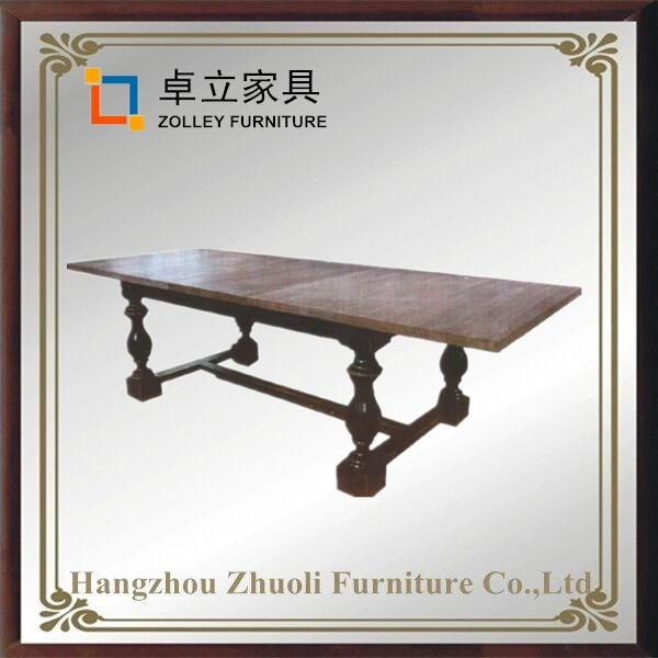french style simple dining table design used restaurant table and chair low price