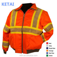 Top Quality Safety Reflective Red Jacket