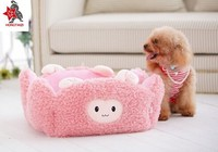 plush pet house for dog