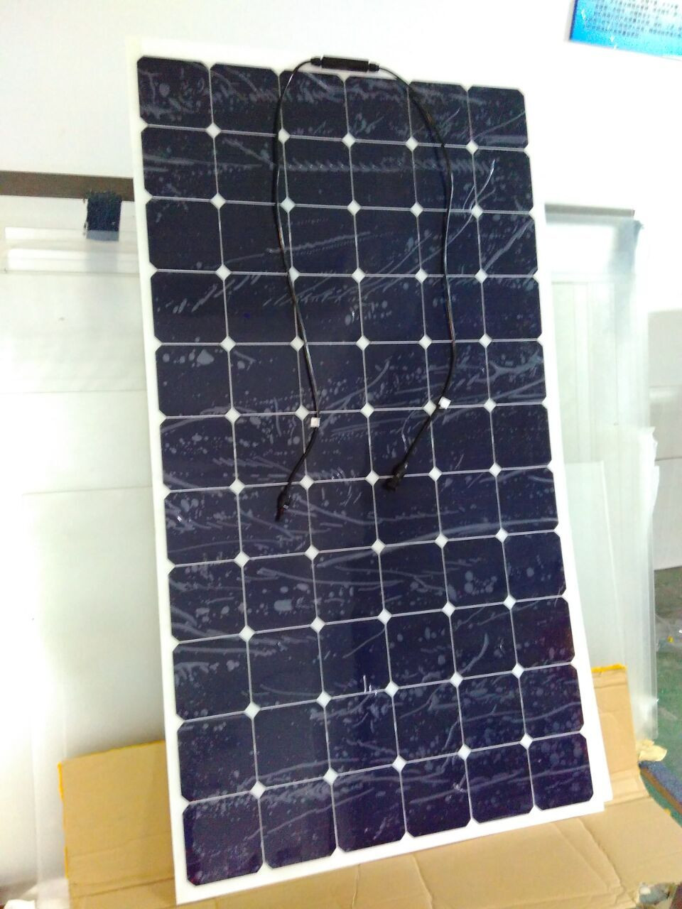 2017 solar cell marine EXW price semi flexible solar panel 220w