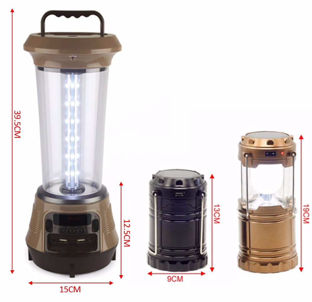 18650 li-thium battery portable outdoor led camping light