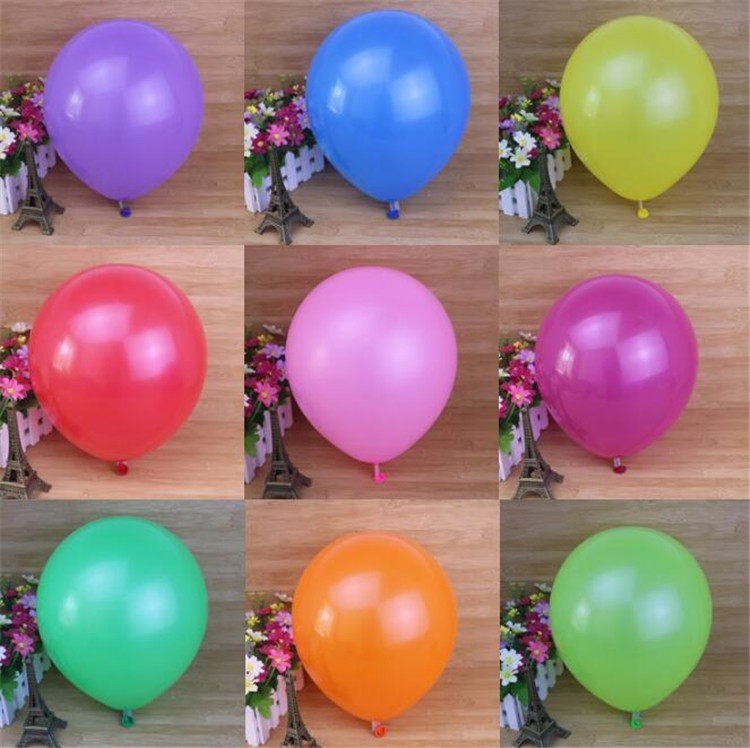cheap colorful round party delivery custom standard latex 10 inch balloon