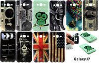 New camera dollars flag printing Flower TPU Case Cover for Samsung Galaxy J7 J700