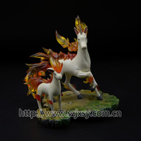 small and large pokemon figure resin