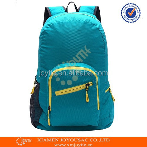 Hot New Products for Waterproof Foldable Nylon Backpack Bag