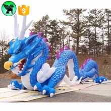Giant Dragon Inflatable Advertising Event Decoration Blue Inflatable Dragon Model A2192