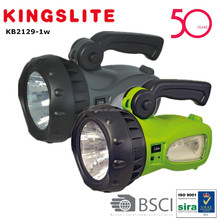 Handheld 3W High Power LED Rechargeable spotlight KB2129