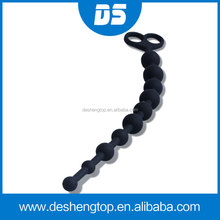 Sex Toy Love Beads, Silicone Pleasure Intensified Anal Beads, Sex Product for Women Silicone Love Balls