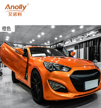 Anolly candy color glossy metallic car wrap vinyl dark grey car cover color changing stickers wrap vinyl