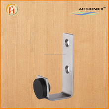 High quality nice price metal short clothes stainless steel 304 towel hook rubber door stopper with wide usage