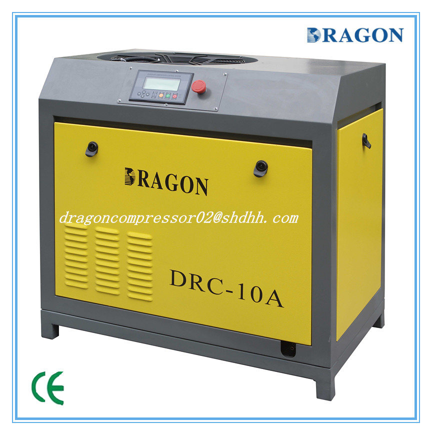auto AC power direct driven screw air compressor by Dragon (7.5KW-75KW)