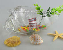 New design glass fish tank,unique glass fish bowl China factory