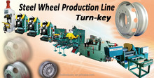 Steel Wheel Rim Production Line for Passenger Cars and Commerical Vehicles