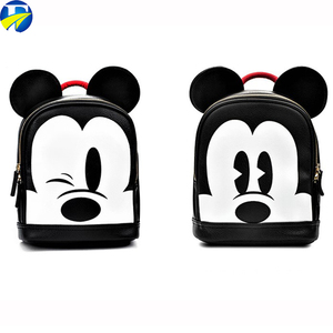 FJ brand 2018 Unique style for children Mickey mouse schoolbags backpack