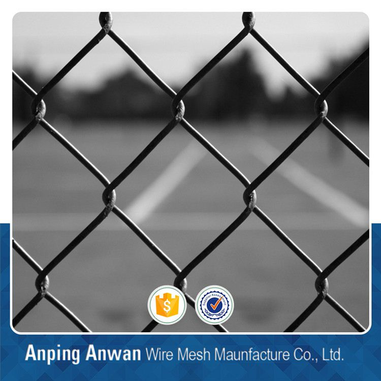home garden pvc coated chain link fence mesh