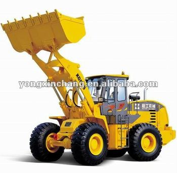 Good quality 5t XGMA wheel loader XG953 with CE certificate