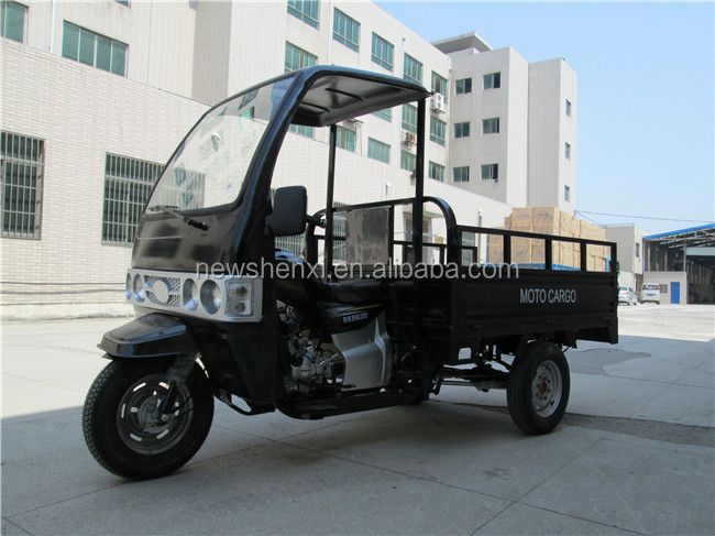 Big Power Motorized Water Cooling Cabin Motor Tricycle