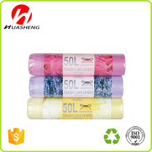 Color Scent Plastic garbage bags on roll Trash bag Bin liner
