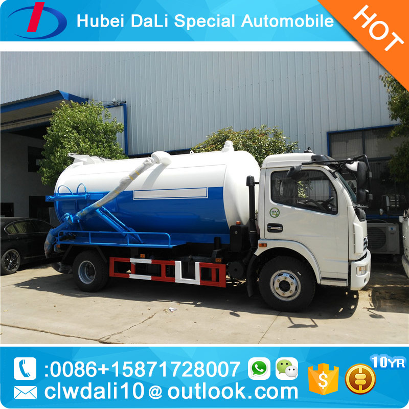 Dongfeng Hot Sales 5 CBM Sewage Suction /Vacuum Suction Tanker Truck