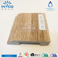 INTCO Wood Color Decorative Cornice Frame Baseboard Molding
